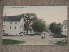 Bridge St., St. Albans, Me., used Early 1900`s