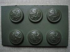 WWI WW1 Bavarian buttons - set - 17,2 mm