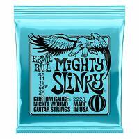 Ernie Ball Mighty Slinky Nickelwound Electric Guitar Strings 8.5-40 Gauge