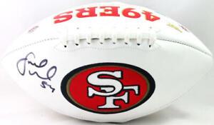Fred Warner Autographed San Francisco 49ers Logo Football- Beckett W Auth *Black