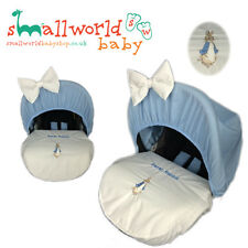 Personalised Peter Rabbit Car Seat Cover (NEXT DAY DISPATCH)