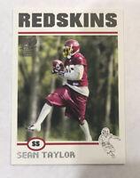 2004 SEAN TAYLOR TOPPS SIGNATURE EDITION /499 WASHINGTON REDSKINS ROOKIE RC