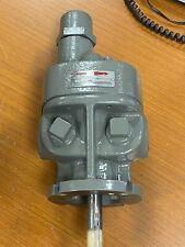 New Flowserve 1 X 1 Cast Iron Flanged Mounted Gear Pump 3gafm1d0