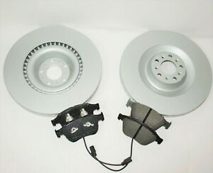 Bentley Continental Gt & Flying Spur Front Brake Pads & Rotors - Genuine