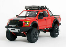 MAISTO OFF ROAD KINGS 1:24 SCALE 2017 RED F150 RAPTOR DIECAST MODEL CAR