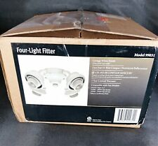 Casablanca 4 Light Arm Fitter 99031 Cottage White for Ceiling Fan Bulbs Included