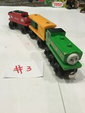 DUCK~BOX CAR~CABOOSE~Thomas The Train And Friends Wooden Railway Train