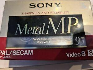 3 Stück SONY P6-90MPF P690MPF 90 minuten 8mm Videocassetten