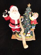Fitz & Floyd Essentials Happy Holidays Santa List Christmas Elf Figurine