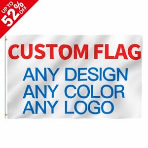 Custom Printed Flag Company Advertising Logo Sport Outdoor Banners Brass