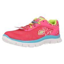 Chaussures roses en synthétique Skechers pour fille de 2 à 16 ans
