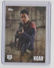 The Walking Dead Season 5 2016 Characters Trading Card #C-14 Noah