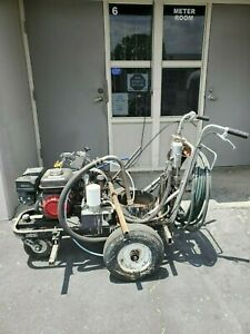 Striping machine, powrliner, 6900, over $1,900 in repair work, great condition