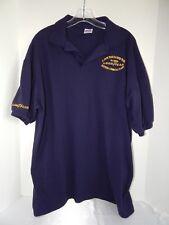 GOODYEAR Employee Polo-Style Shirt, Bayport Chemical Plant, Size: XL, Dark Blue