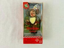 Reindeer Chelsie Christmas Ornament Red Nose Barbie Kelly New