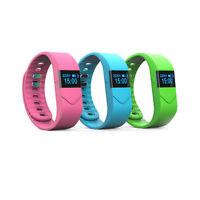 B51C Wasserdicht OLED Tracking Fitness Armband Uhr Herzrfrequenz Blutdruckmesser
