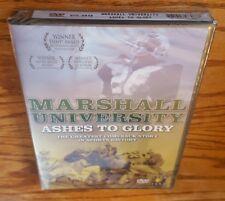 Marshall University: Ashes To Glory (DVD, 2006) documentary film football NEW