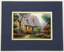 Thomas Kinkade Foxglove Cottage Print 8 X10