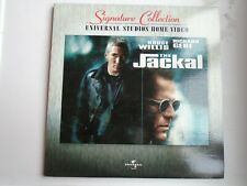 THE JACKAL LASERDISC signature collection NTSC 2 discs Bruce Willis