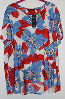 M&S Floral Boho Top Size 22 Made From Recycled Polyester New With Tags