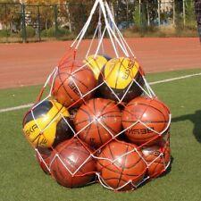 for Volleyball Basketball Football Nylon Net Bag Carry Braided Mesh Net Bag Ea7X