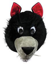 WOLF MASCOT HEAD COSTUME ACCESSORY