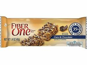 Fiber One(R) Chewy Bars, Oats And Chocolate, Box Of 16