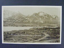 Summit Lake White Pass Yukon Route Canada Antique Real Photo Postcard RPPC 1920s