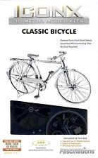 Fascinations ICONX 3D Metal Earth Laser Cut Model Kit Classic Bon Voyage Bicycle