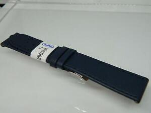 20mm LBS Navy Blue Calf  Leather Watch Strap,Stitched ,Two keepers,Easy Fit Lugs