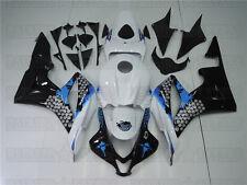 Bodywork White Blue Black Injection Fairing Fit for 07-08 Honda CBR600RR w34