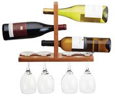 Bar Craft par Kitchen Craft mural en bois verre vin et Porte Bouteille Rack