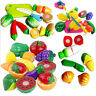 Spielzeug küche Kinder Lebensmittel Obst Gemüse Spielküche Kochen WH