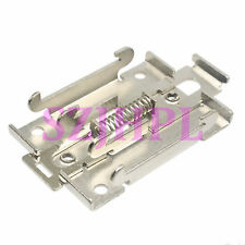 35mm DIN rail bracket snaps SRR electrical installation M4 R99-12 latch release