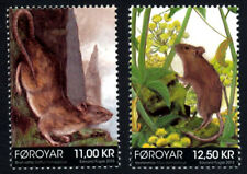 Faroe Islands 2013 Rodents, Brown Rat & House Mouse, Mnh/Unm