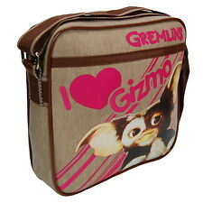 NEW OFFICIAL Gremlins Gizmo Classic Retro Crossbody Flight Shoulder Bag