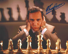 CHESS WORLD CHAMPION RUSSIAN LEGEND GARRY KASPAROV SIGNED 8X10 PHOTO F COA PROOF