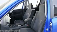 TOYOTA HILUX SEAT COVERS DUAL CAB SR SR5 JULY 15> FABRIC TYPE NEW GENUINE
