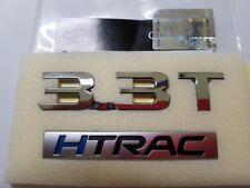 Rear Trunk 3.3T HTRAC Text Emblem Badge For Kia Stinger Genesis G80 2018 2019+