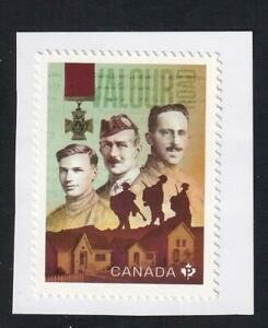 Canada 2021 WWI Winnipeg Valour Road soldiers, MNH 'P' single from booklet