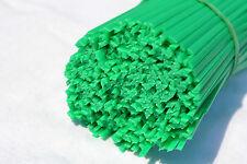 ABS Kunststoff Schweißdrähte (4mm) Dreieckig Form, Grün, 6 Stück, Stoßstange