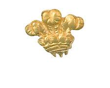 Piume gallesi Tie Tack TIE PIN Oro MADE to Order nel trimestre gioielleria b'ham