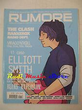 Rivista RUMORE 153/2004 Clash Eliiott Smith Otep crisis Kittie Black Keys *NO cd