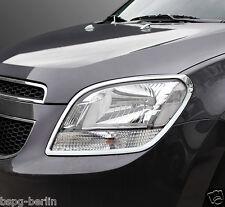Zubehör für Chevrolet Orlando 2011-2018 Chrom Scheinwerfer Rahmen Molding Tuning