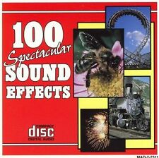 Audio CD 100 Spectacular Sound Effects - Various Artists - Free Shipping
