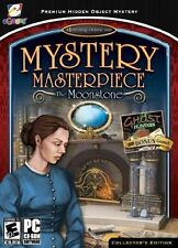 Mystery Masterpiece The Moonstone HIDDEN OBJECT PC GAME