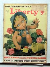 Jul 15,1939 Liberty Magazine-Mackensie Baseball/Burma & Japan/Communist (L6208)