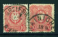 Germany Imperial Eagle PfenigE classic stamp 1875 $30
