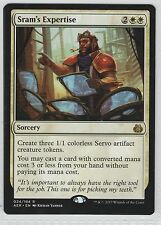 Sram's Expertise . 024/184 . Magic the Gathering . Aether Revolt . NM/M . Rare