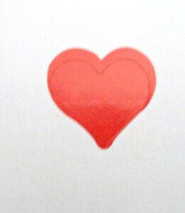"NEW FULL ROLL OF 1000 3/4"" HEART TANNING STICKERS"
